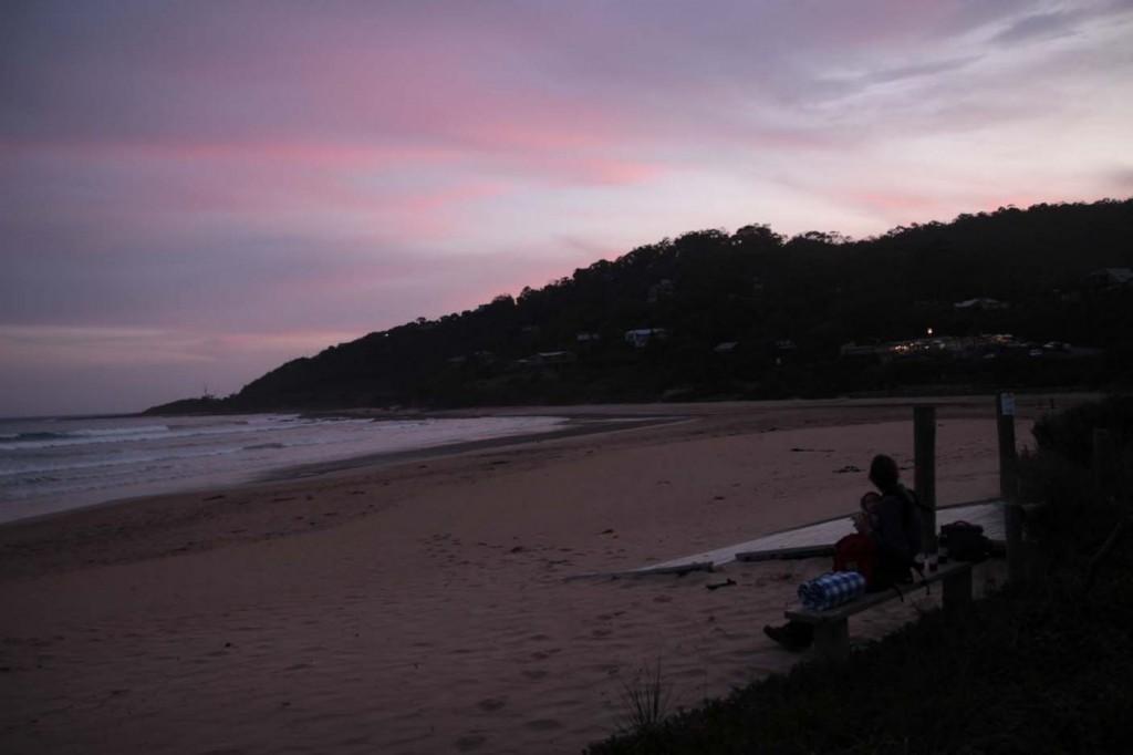 Und die Nächte verbringen wir an verträumten Campingplätzen direkt am Meer