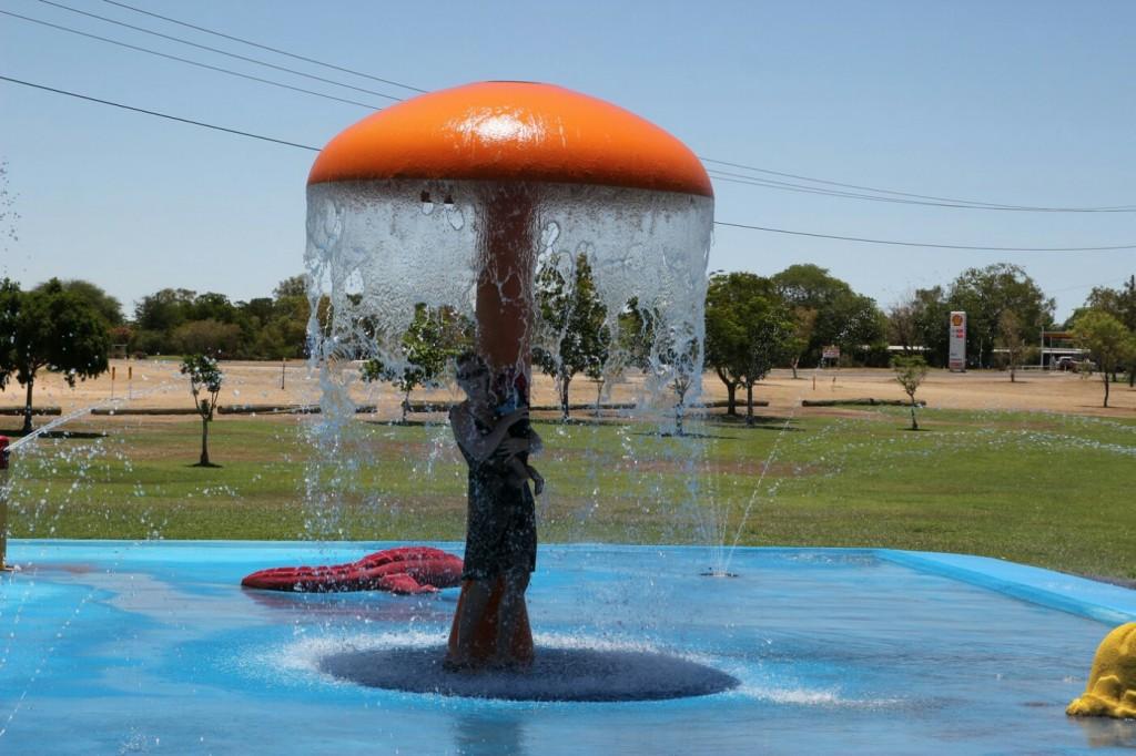 Spieleparadies nicht nur für die Kleinsten gibt es in Australien nahezu überall. Wie hier in Richmond / Queensland